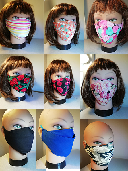 Face coverings / Face masks